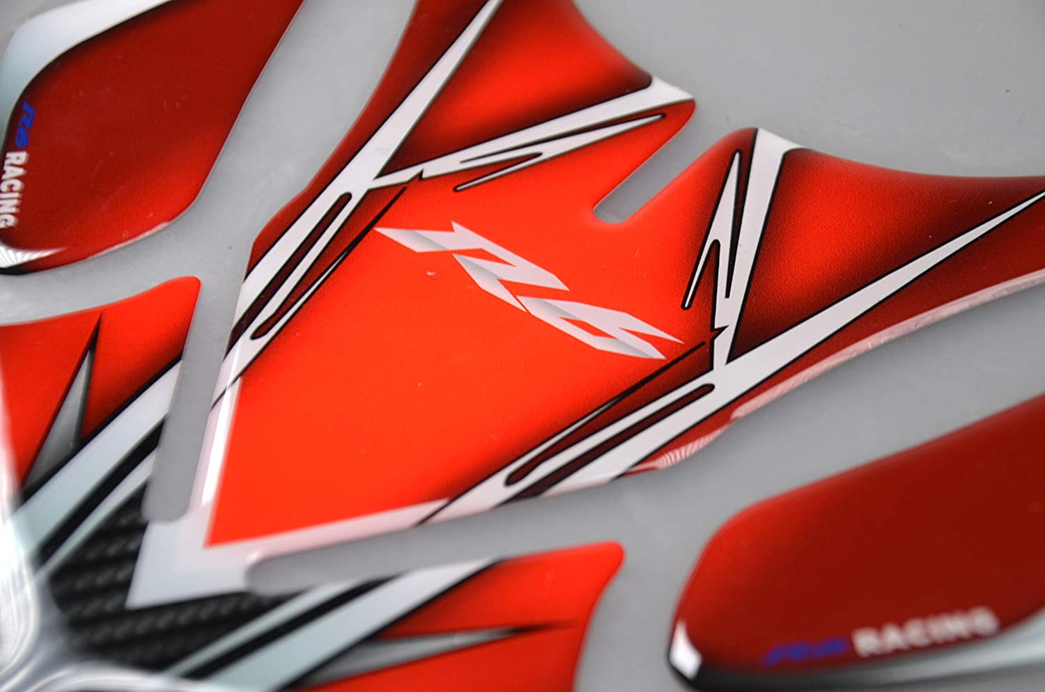 Red 5559093421 Motorcycle Tank Gas Protector Tank Pad Sticker Fit For YZF R6 1999 2000 2001 2002 2003 2004