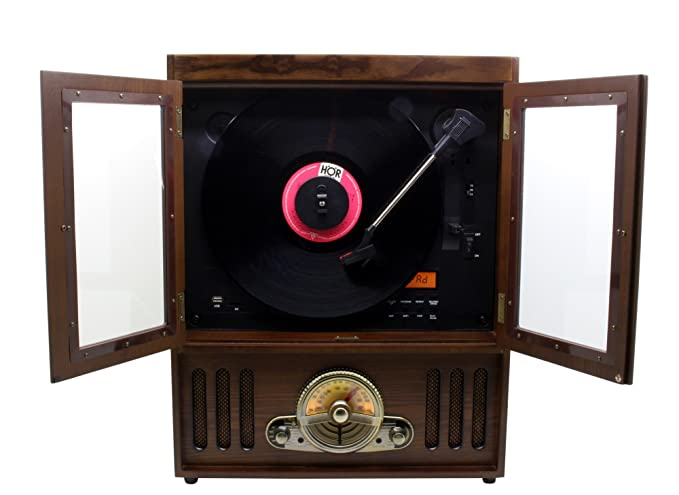 Soundmaster NR600 - Tocadiscos con Reproductor CD/CD-MP3/CD ...