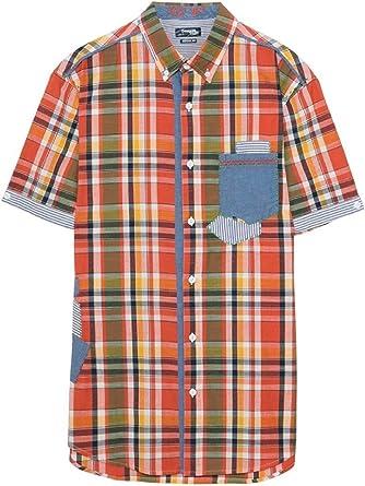 Desigual - Camisa casual - para hombre 3127 XL: Amazon.es: Ropa y accesorios
