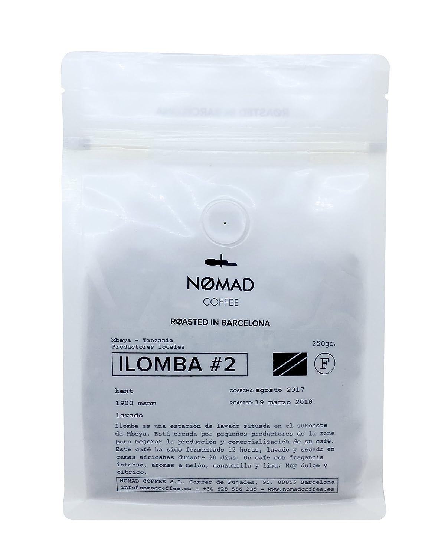 Nomad Coffee - Proceso Honey - Café en Grano, Tueste Espresso - Roasted in Barcelona - 250g: Amazon.es: Alimentación y bebidas