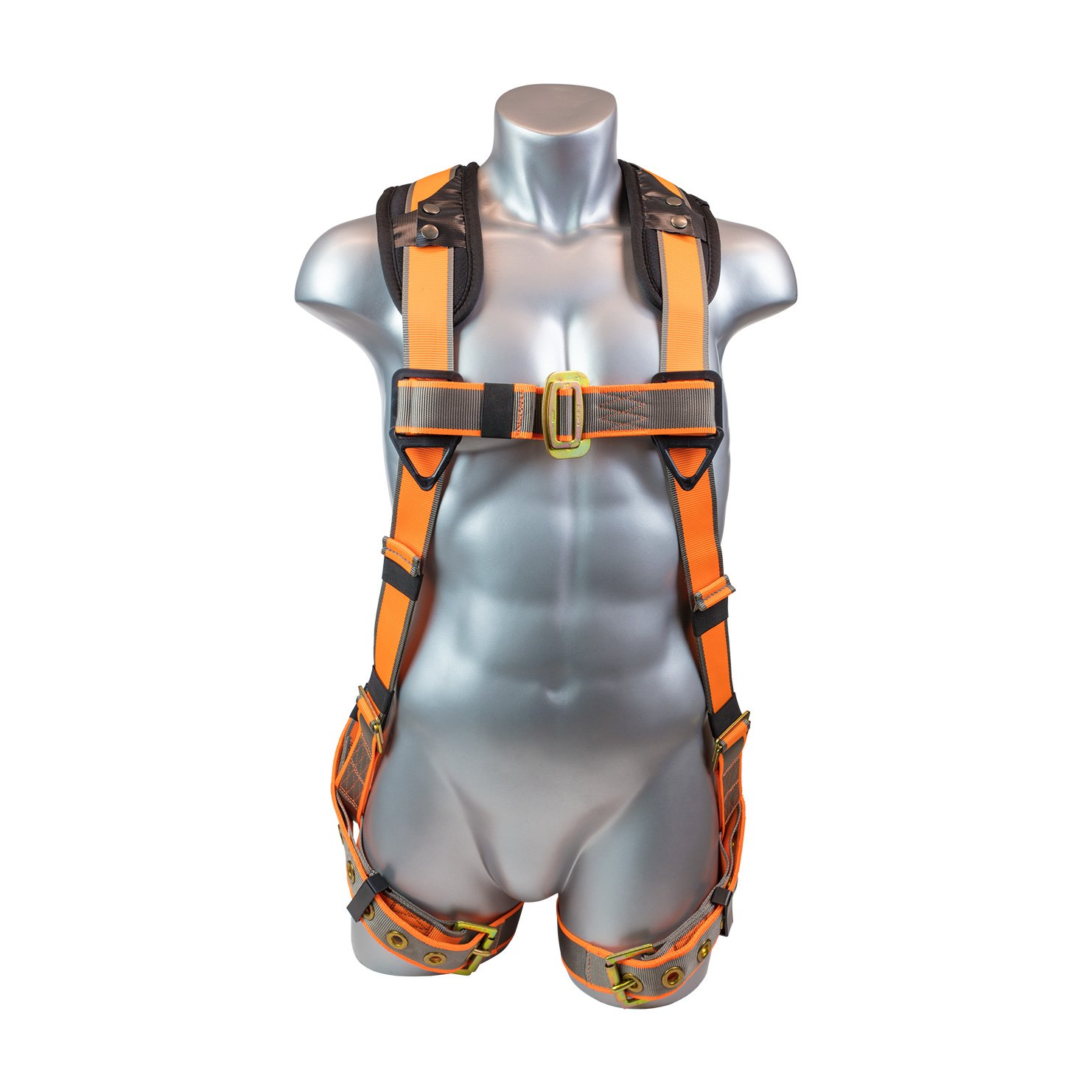 Warthog 5 – Point Full Body Harness with Tongue Buckle Legs & X-Pad (S-M-L)