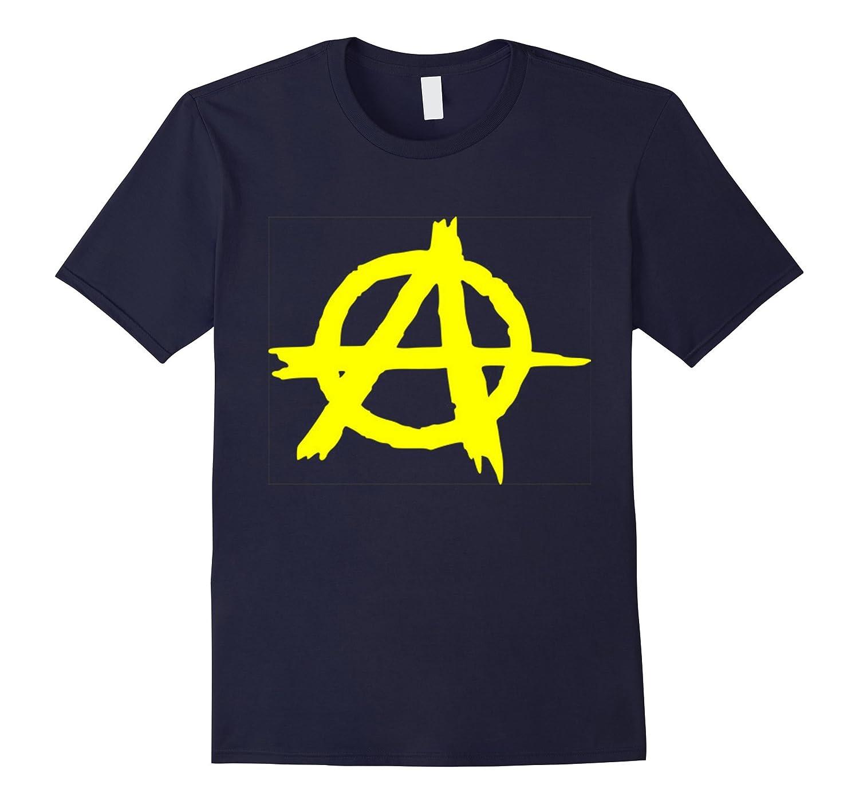 Anarchy Symbol Tshirt Anz Anztshirt