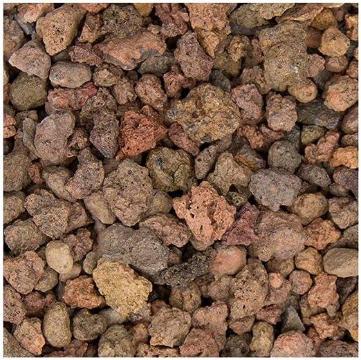 Lava de Mantillo en el grano 8 – 16 mm, especial Virutas de piedra de lava Ornamentales