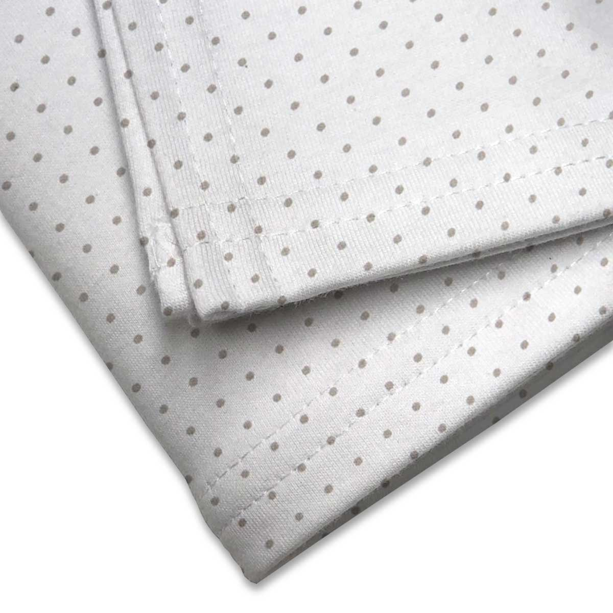 Made In USA SheetWorld Soft /& Stretchy Swaddle Blanket Blue Gingham Check