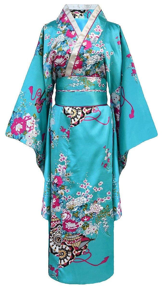 Laciteinterdite-Kimono de Japonesa-Disfraz para Mujer, diseño de Geisha