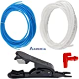 Aameria Ro Pipe Tube Cutter With Pipe Tube 5 Mtr White 5 Mtr Blue