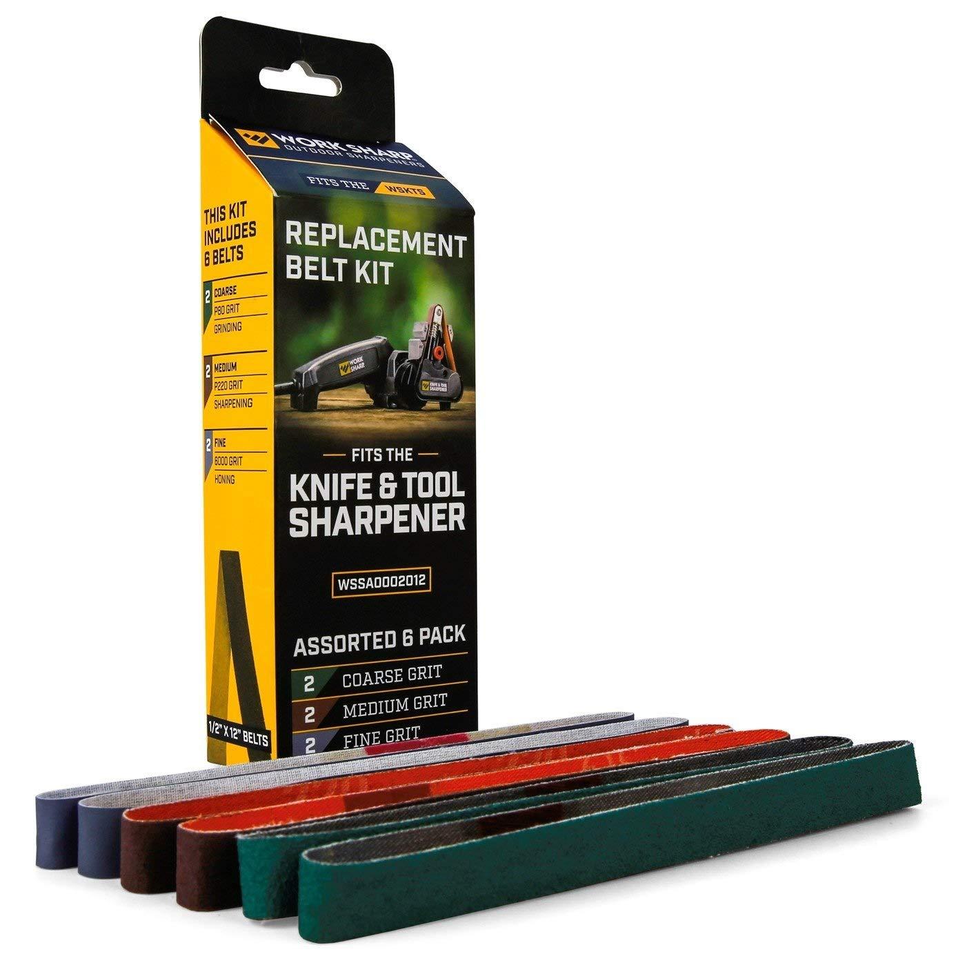 Amazon.com: Kit de reemplazo de correa para cuchillo afilado ...