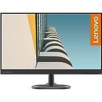 """Lenovo C24-25 - Monitor de 23.8"""" FullHD (1920x1080 pixeles, 16:9, 75Hz, 4ms, 1000:1, Puertos VGA + HDMI, 3 lados, sin…"""