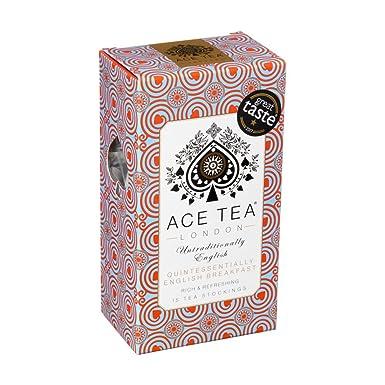 Bolsas de té quintaesencial para un desayuno inglés de Ace ...