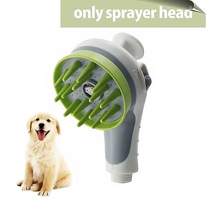 Pet Shower Head, SKILEEN Pets Sprayer Shower Pet Sprayer Dog Bath Massage  Bathing Tool Universal