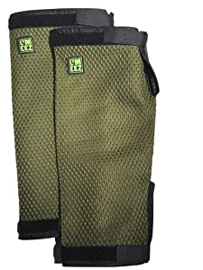 Lymeez 3D Mesh Tick Repelling Arm Gaiters for Gardening. New! Treated (permethrin). 3D mesh Slows Ticks = Longer Exposure to Repellent. Durable. Long-Lasting. Smart & Easy tick bite Protection.