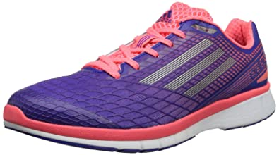 finest selection fe7db a4094 adidas Adizero Feather 3 W Q21862, Damen Laufschuhe, Mehrfarbig (Blast  Purple F13