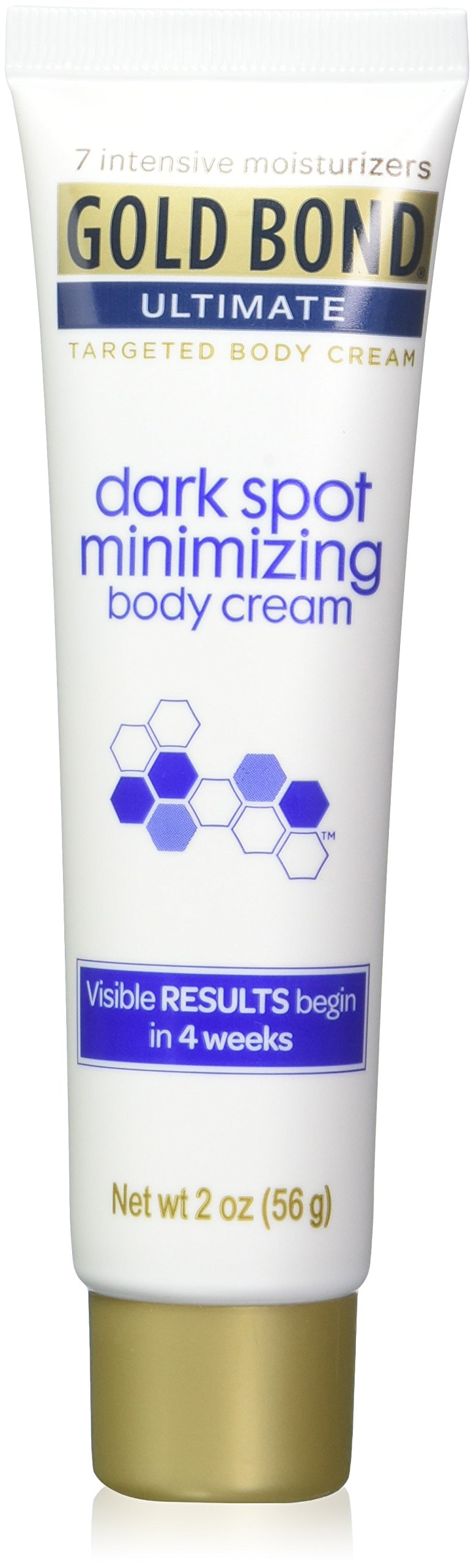 Gold Bond Ultimate Dark Spot Minimizing Body Cream 2 oz (Pack of 4)