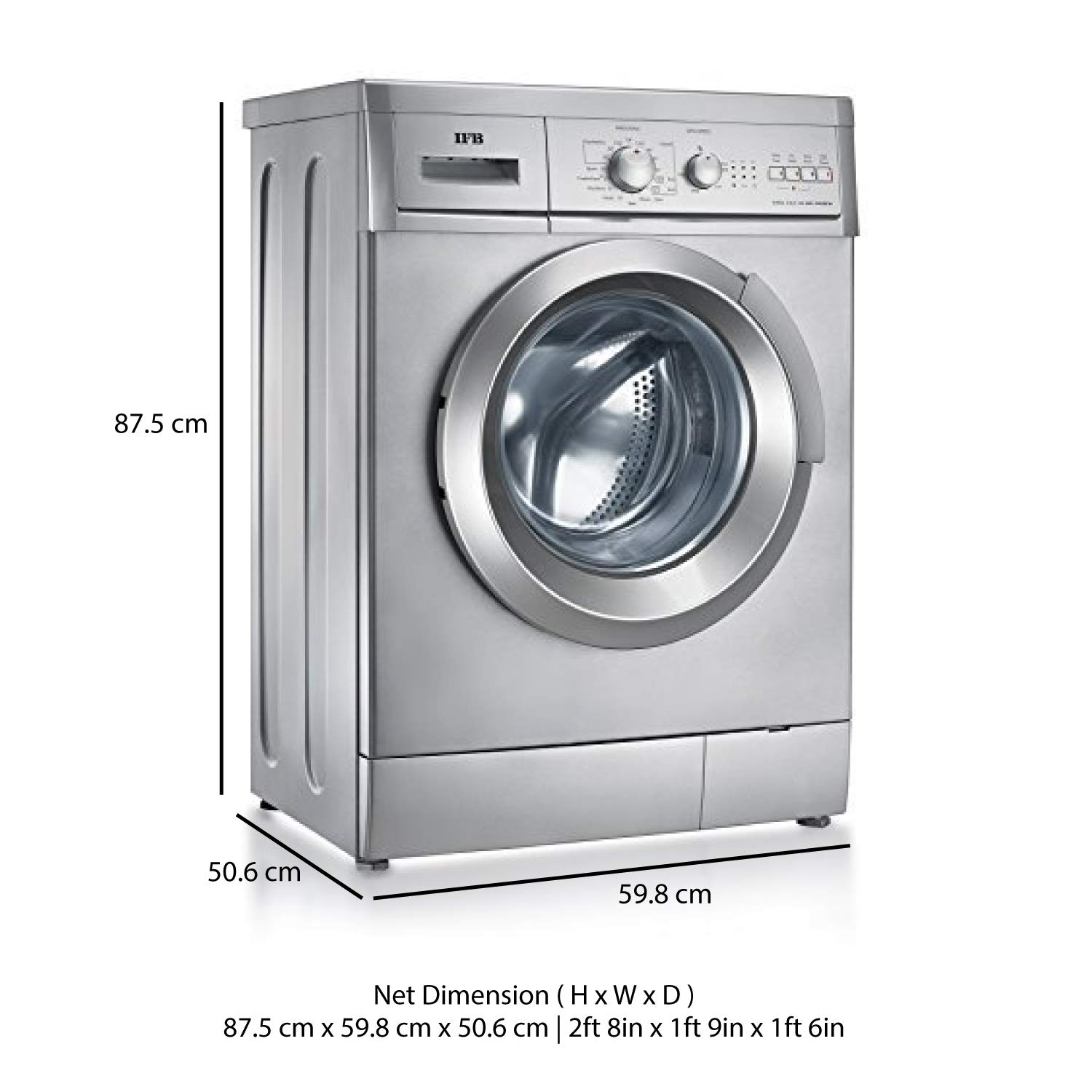 IFB 6 kg Fully-Automatic Front Loading Washing Machine (Elena Aqua SX ,  Silver): Amazon.in: Home & Kitchen