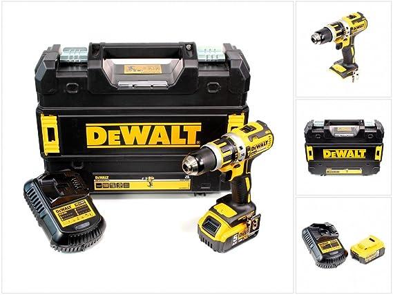DeWalt DCD 795 P1 - Batería (18 V con 1 x 5 Ah Batería ...