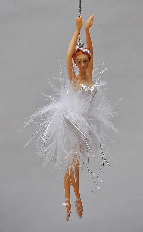 Decorazioni Natalizie Ballerine.Incantevoli Ballerina Deko Fatti A Mano Vere Piume Decorazioni