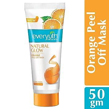 Amazon Com Everyuth Naturals Orange Peel Off Mask 50gm Beauty