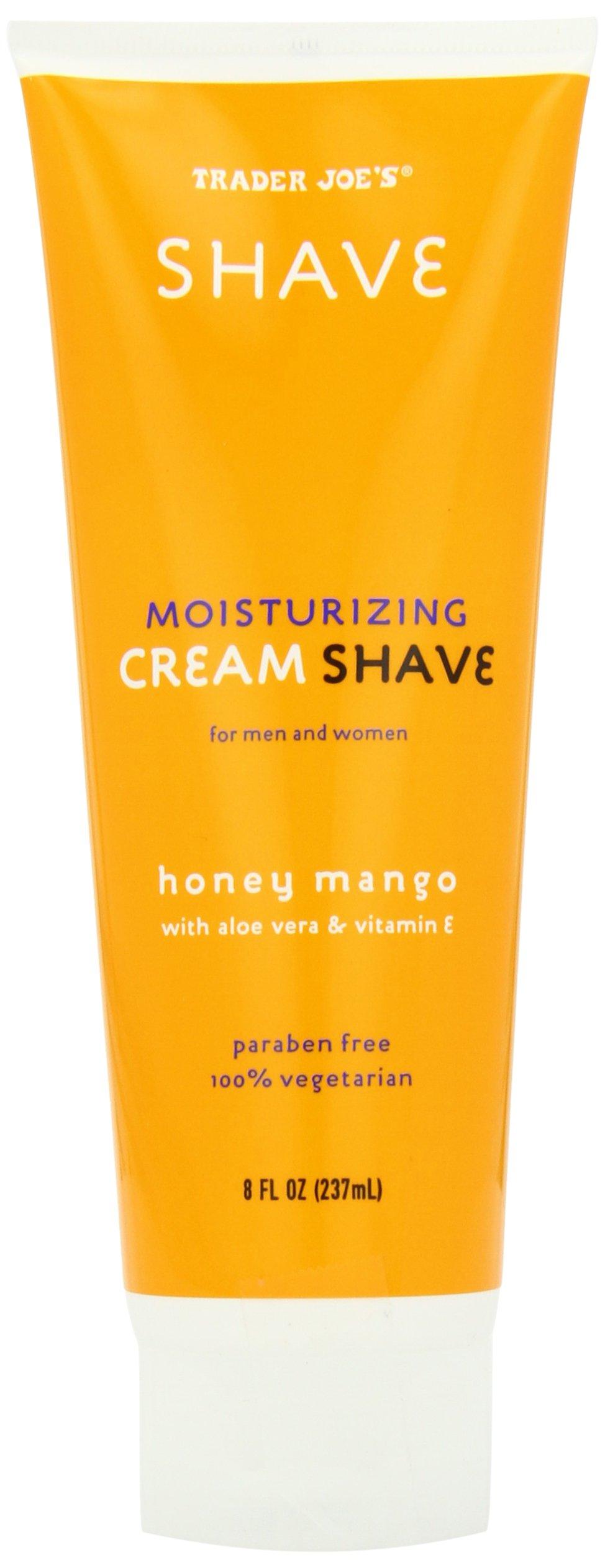 Trader Joe's Moisturizing Cream Shave Honey Mango, 8 fl. oz.