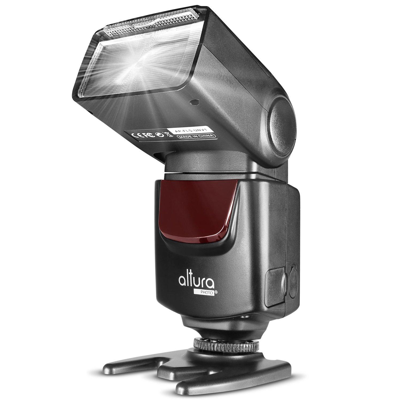 Altura Photo AP-UNV1 DSLR Camera Flash Speedlite for Canon Nikon by Altura Photo