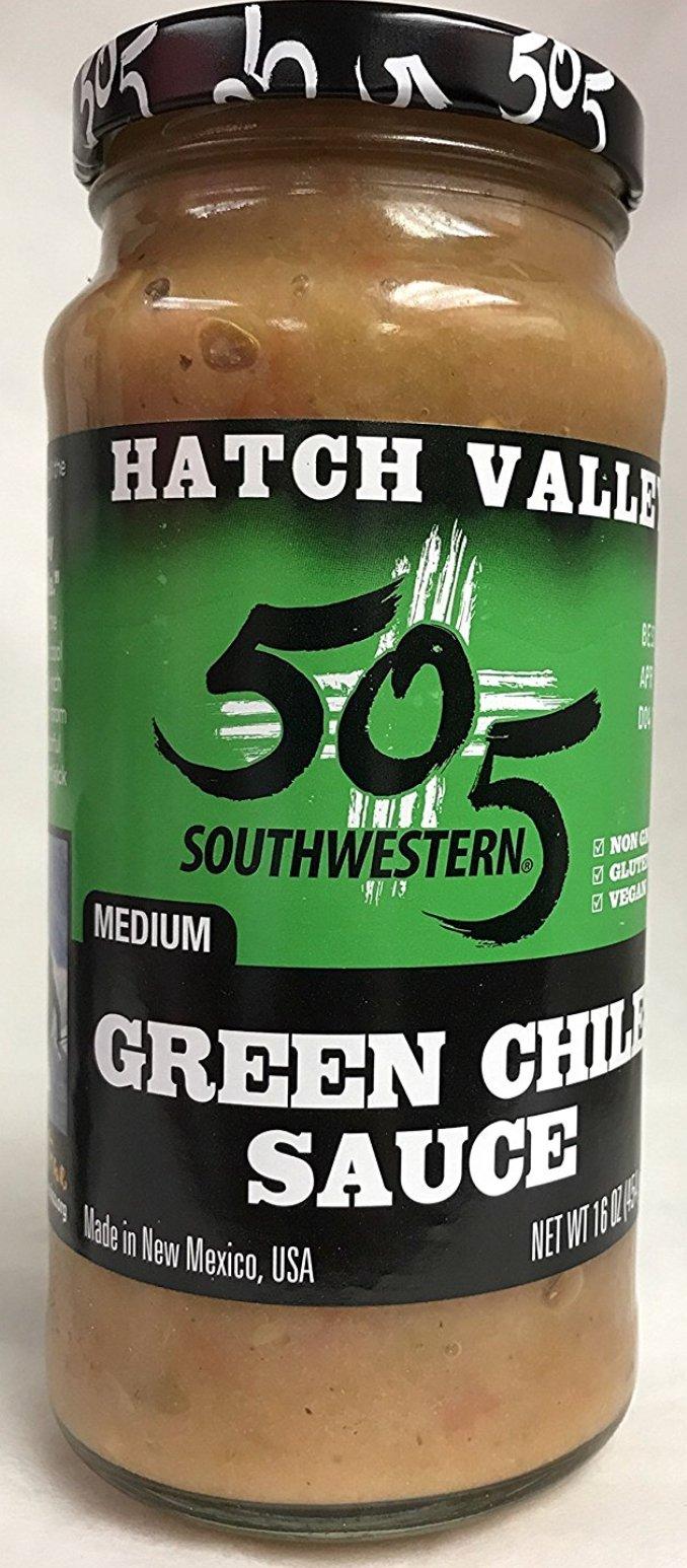 505 Southwestern Medium Green Chile Sauce (pack of 2)