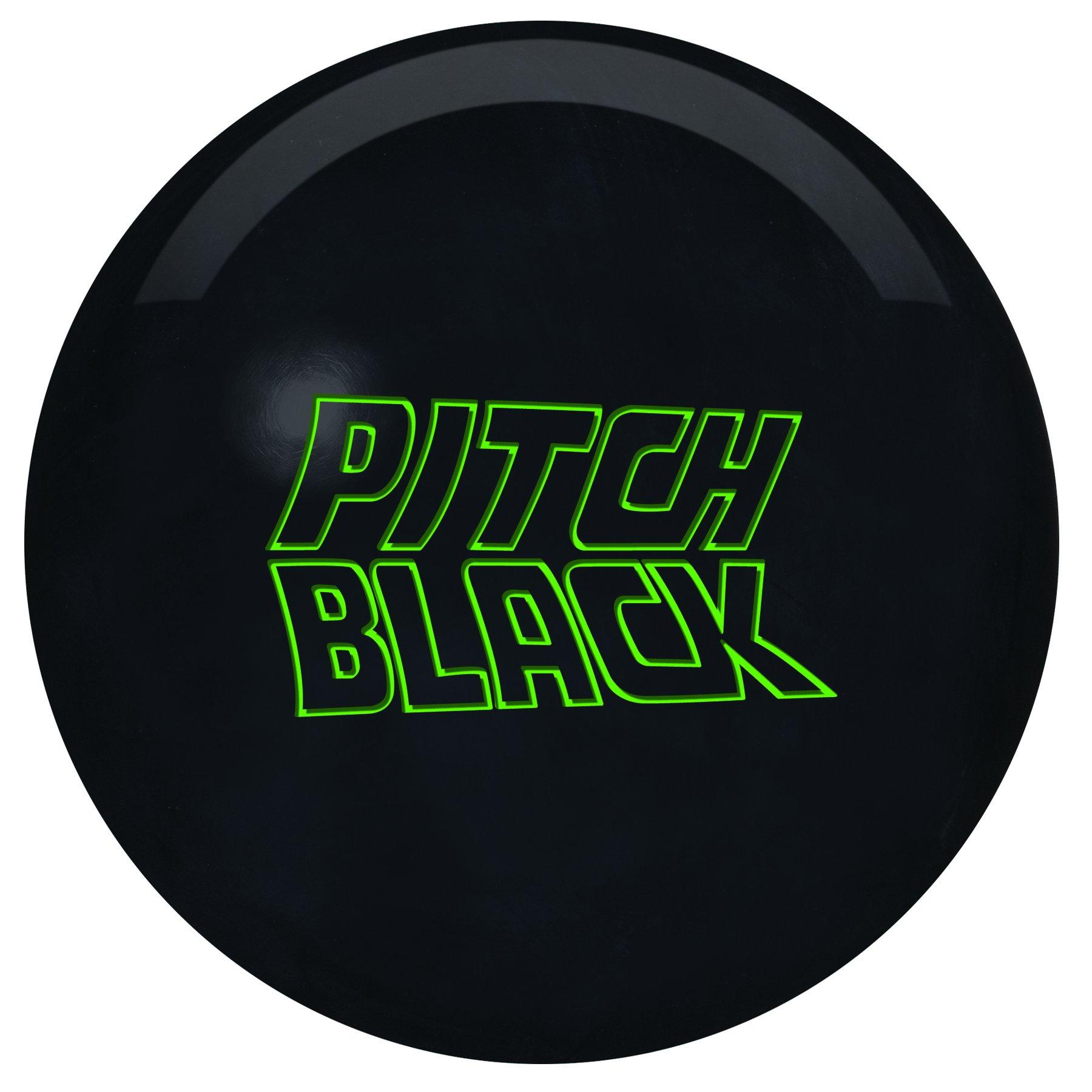 Storm Pitch Black Bowling Ball, 14-Pound