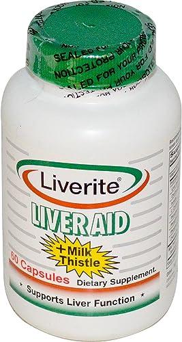 Liver Aid Milk Thistle 60 Capsules