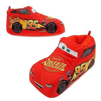 amazon com disney lightning mcqueen slippers for kids slippers