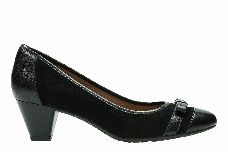 Clarks Damenschuhe schwarz Schuhe Denny Fete schwarz Damenschuhe Combi - 231680