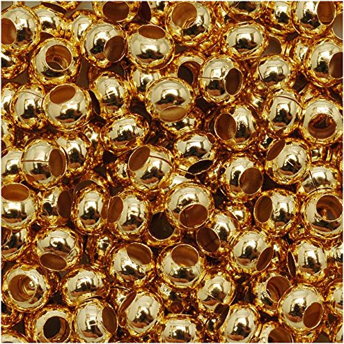 Genuine Metal Seed Beads 6/0 24KT Gold Plated 30 -