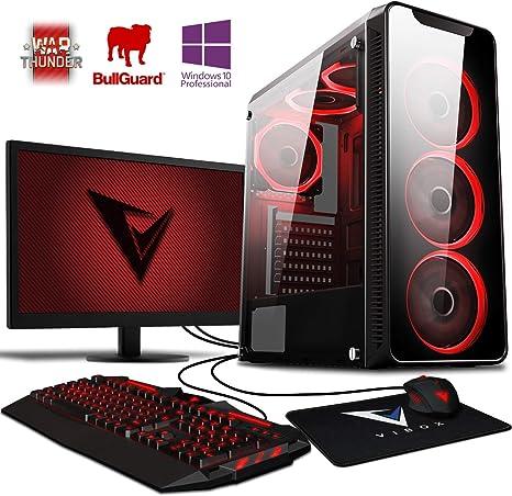 Vibox Kaleidos SA4-102 Gaming PC Ordenador de sobremesa con 2 ...