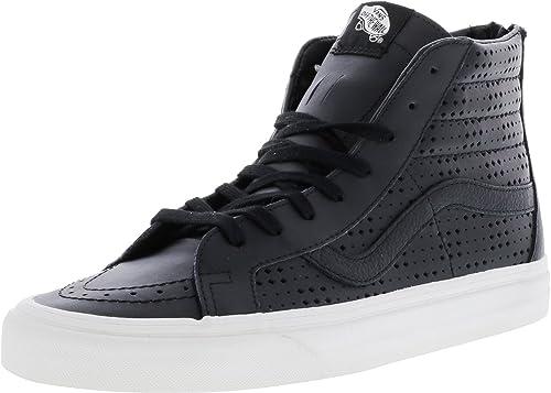 288cb3c4b9ae12 Sneaker Men Vans Leather Sk8-Hi Reissue Zip Sneakers  Amazon.co.uk ...