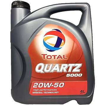 Total Quartz 5000 20 W de 50 Oldtimer - Aceite en 4 L. Bidón: Amazon.es: Coche y moto