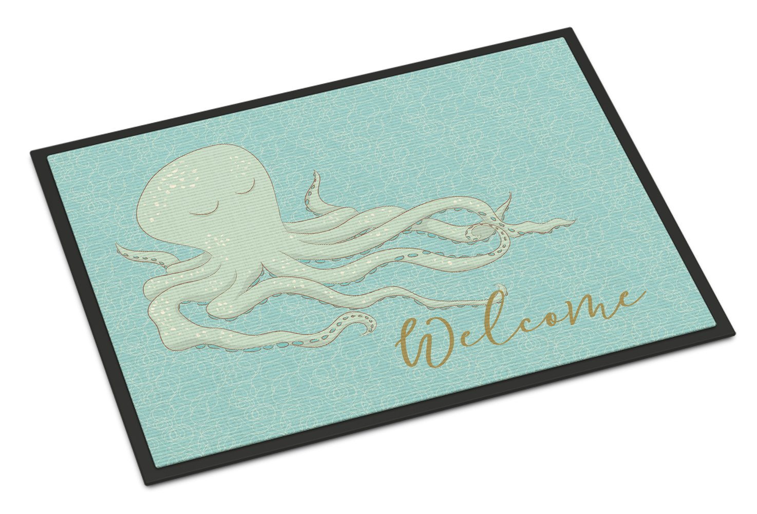 Caroline 's Treasures Octopus Welcomeドアマット、24