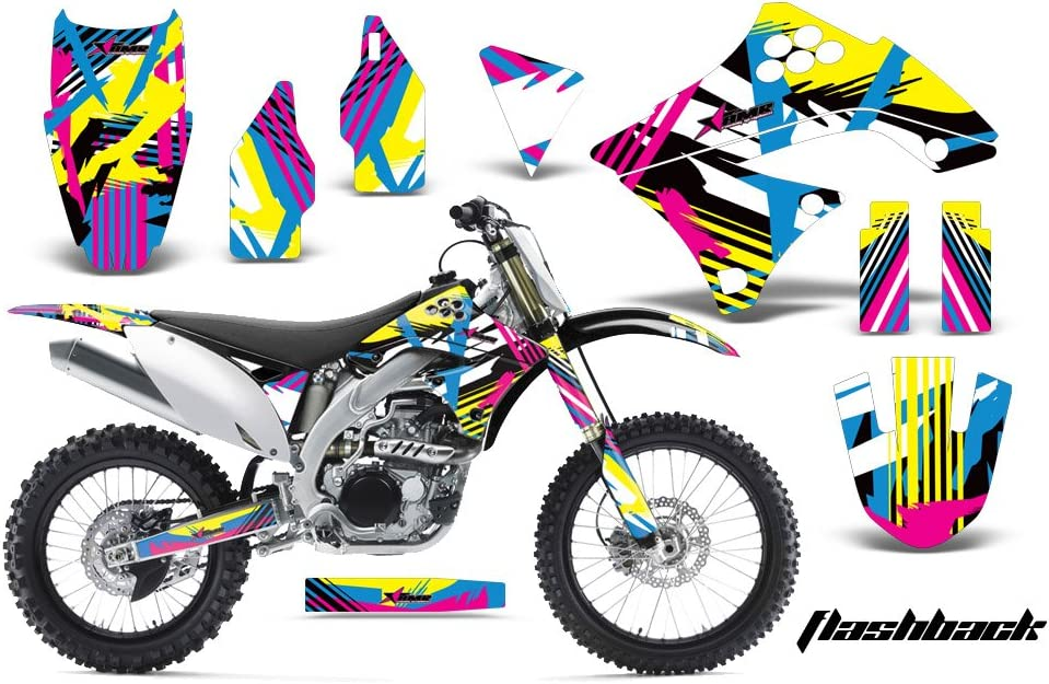Kawasaki Z125 PRO 2017 MX Dirt Bike Graphic Kit Sticker Decals Z 125 FLASHBACK