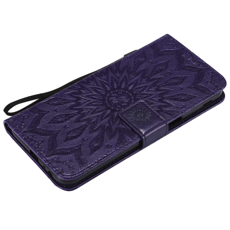 Lomogo Samsung Galaxy J6+ J6Plus H/ülle Leder LOKTU23651 Blau Schutzh/ülle Brieftasche mit Kartenfach Klappbar Magnetverschluss Sto/ßfest Kratzfest Handyh/ülle Case f/ür Samsung Galaxy J6 Plus