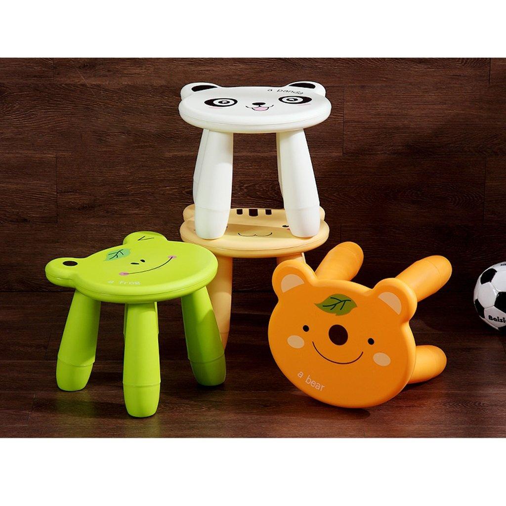 Duzhengzhou Footstool - Children's Stools Living Room Adult Plastic Cartoon Animals Cute Small Bench (Color : Frog) by Duzhengzhou (Image #5)