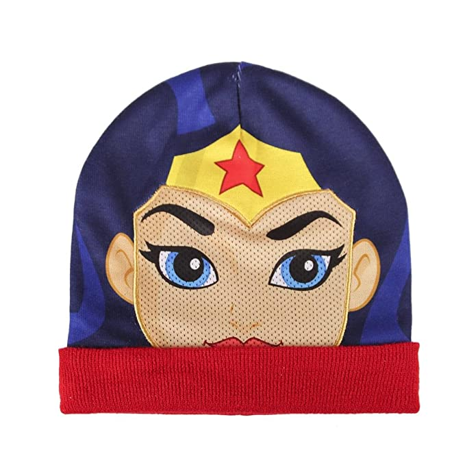 Characters Cartoons - Gorro - para niño Wonder Woman Talla única : Amazon.es: Ropa y accesorios