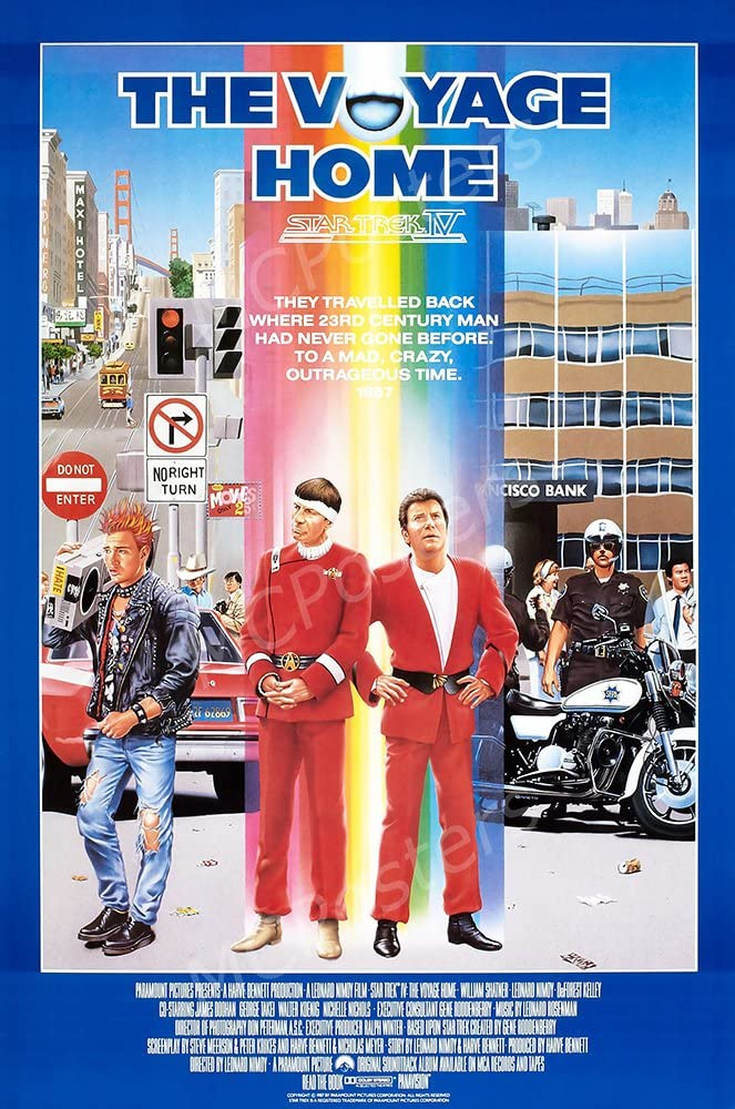 "MCPosters Star Trek IV The Voyage Home GLOSSY FINISH Movie Poster - MCP461 (24"" x 36"" (61cm x 91.5cm))"