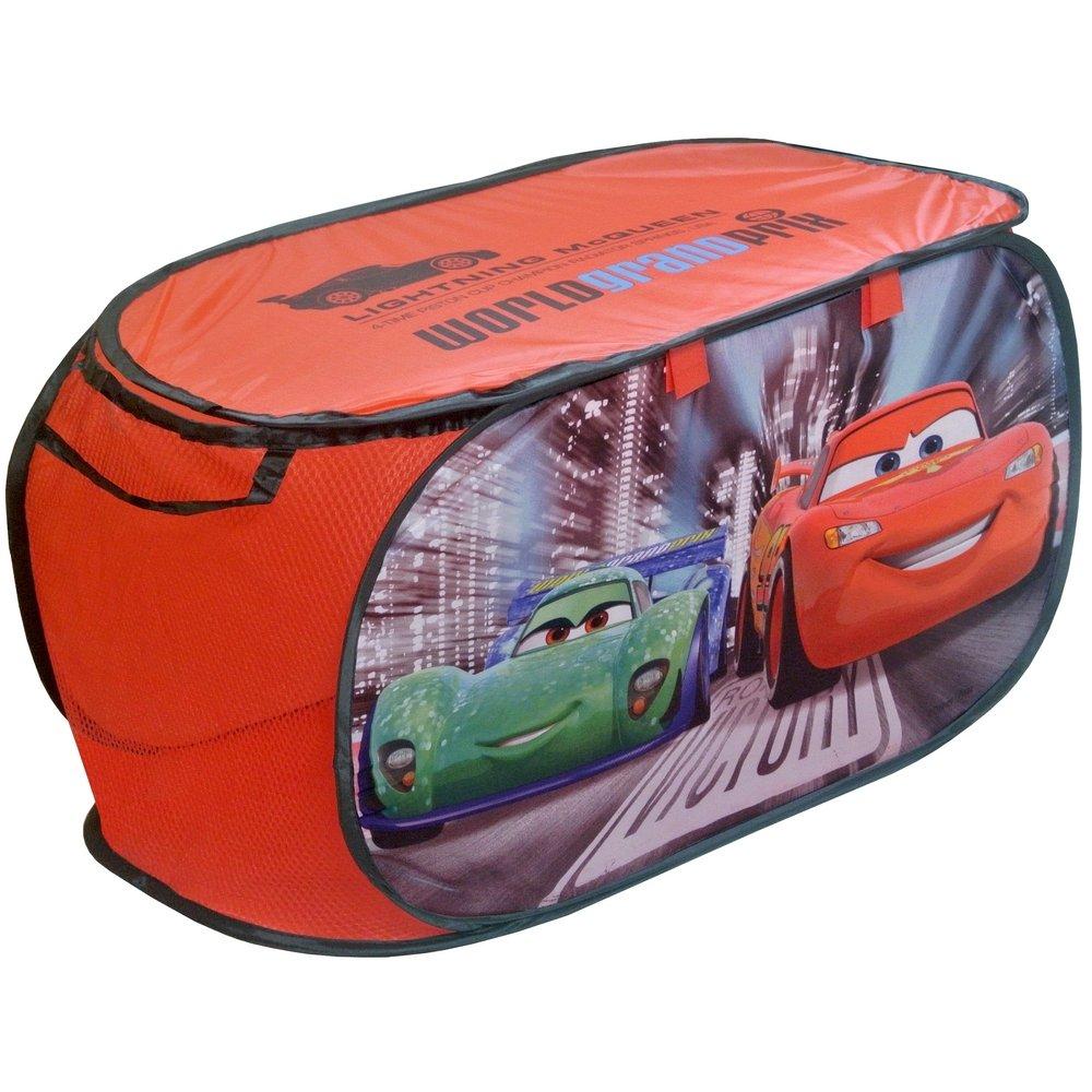 Disney Coffre /à Jouets Panier de Rangement Cars Flash McQueen