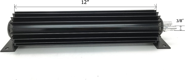 HotRod99 12 Satin Aluminum Finned Dual Pass Transmission Cooler