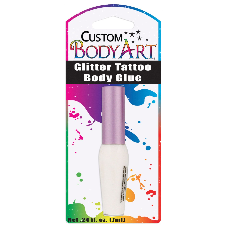 Custom Body Art 7ml Bottle of Glitter Tattoo Body Glue