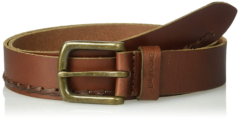 Cognac Browning Lifestyle Belt 36 Frontier