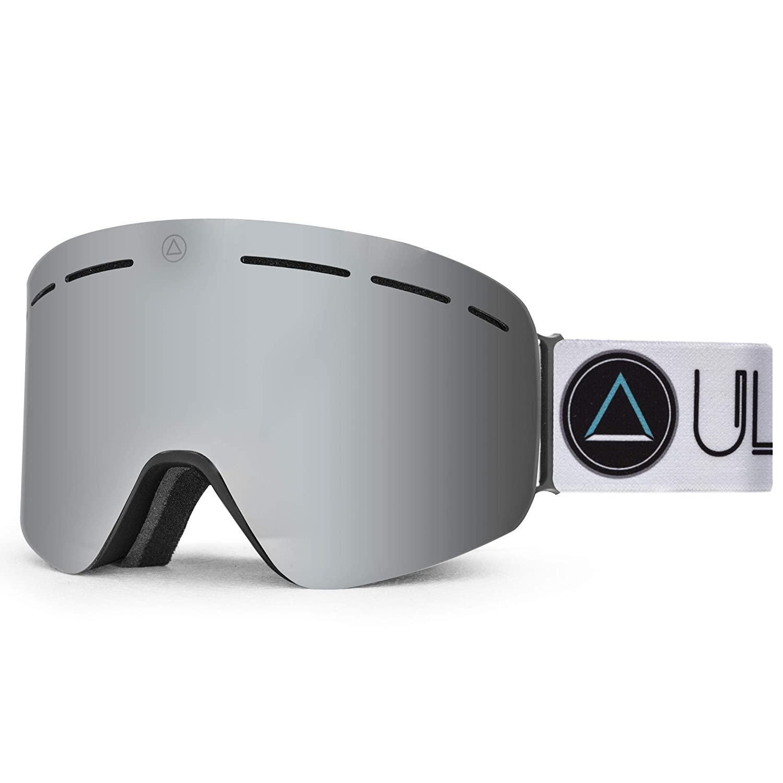 Uller Freeride Black Blizzard Mascaras de Esqui Unisex Adulto Negro//Gris Unico