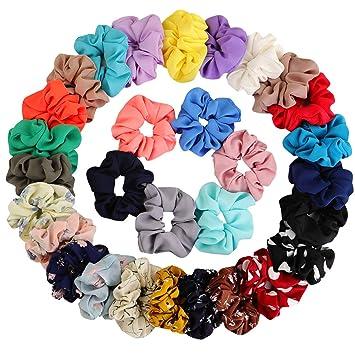 Good Quality Fabric Hair Scrunchies