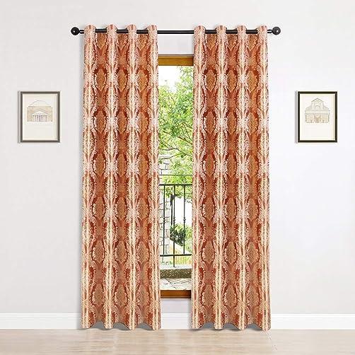 Jacquard Room Curtains