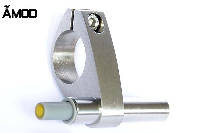 Schiebet/ürsystem ESG 1025x2175x8mm Dekor S vollsatiniert; Edelstahl Laufrollensystem SoftStop; Griffmuschel BS-1025DA-2