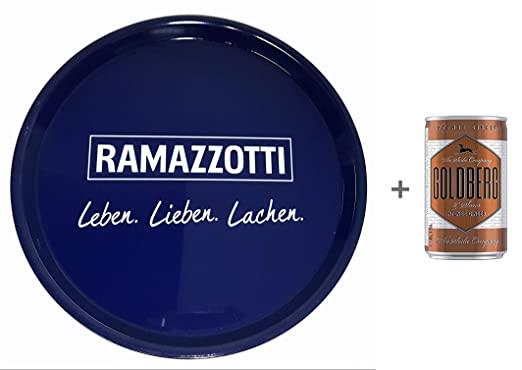 Ramazzotti Rosato Gl/äserdeckel 10 St/ück
