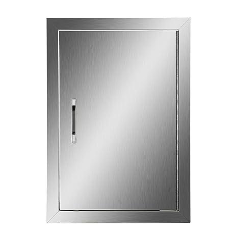 Amazon.com : Happybuy BBQ Access Door Double Wall Construction ...