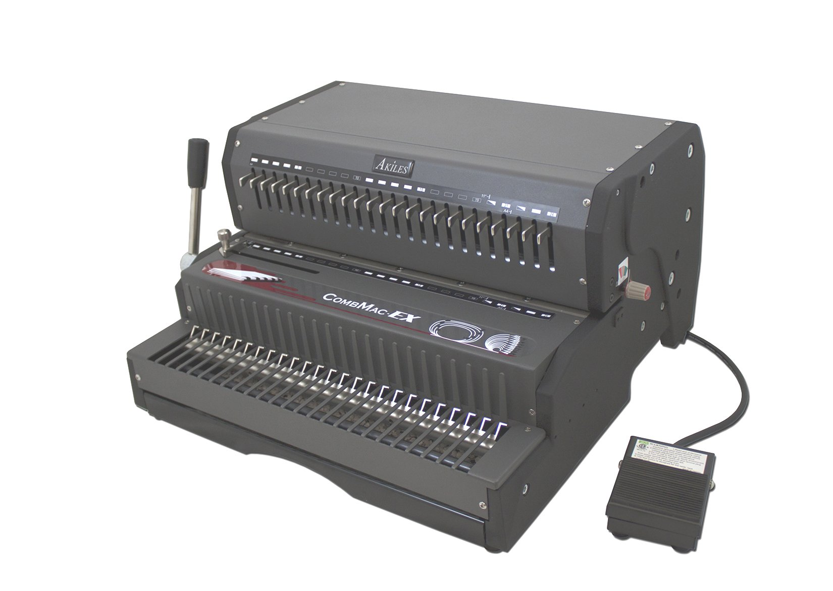 Akiles CombMac-EX24 Binding Machine Electric