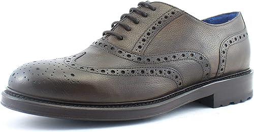 riktigt bekvämt skönhet detaljhandelspriser Amazon.com   Giorgio Rea Men's Shoes Oxfords lace-up Elegant Brown ...